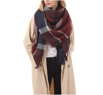 American Trends Chunky Blanket Scarf