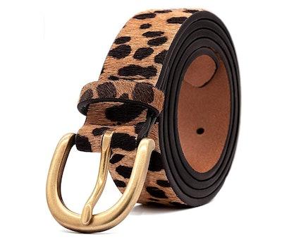 LOKLIK Leopard Print Belt