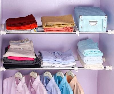 BAOYOUNI Expandable Pressure Shelves