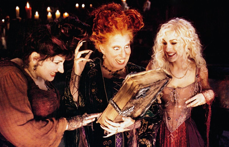 These witchy books would even please the Sanderson sisters, pictured here with their own grimoire.
