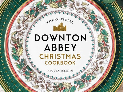 The 'Downton Abbey' Christmas Cookbook is available for preorder now.