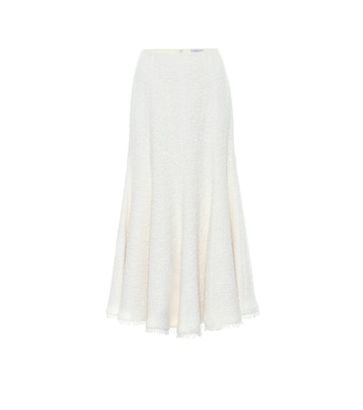 Amy Alpaca-Blend Midi Skirt
