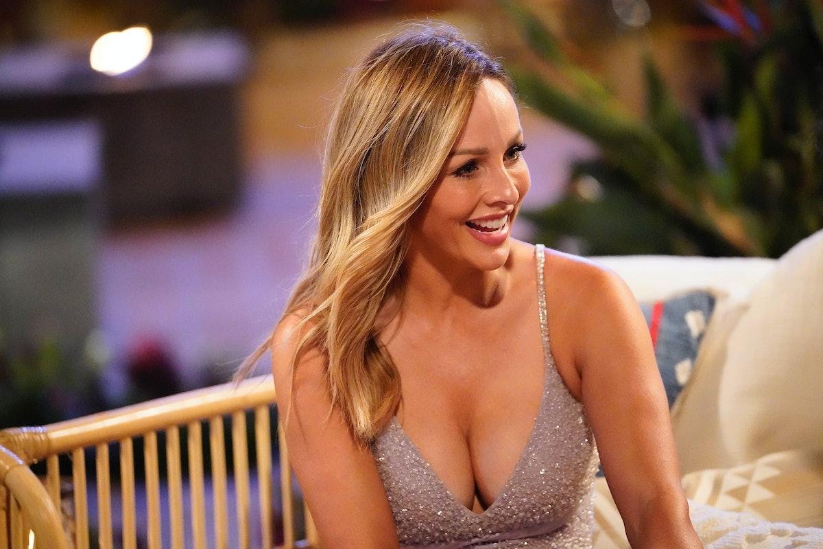 Clare on 'The Bachelorette'