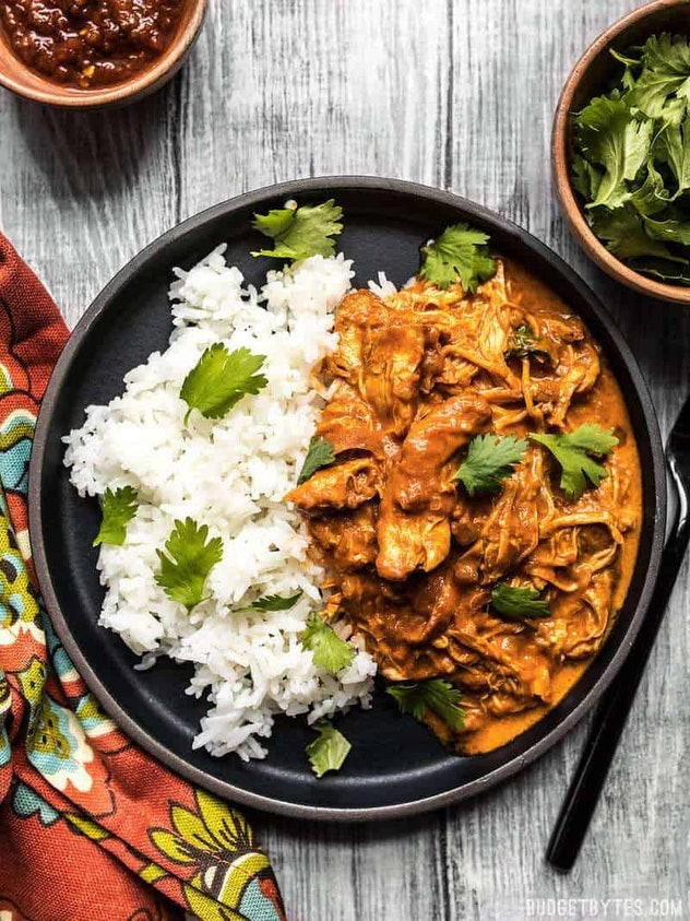 slower cooker chicken tikka masala