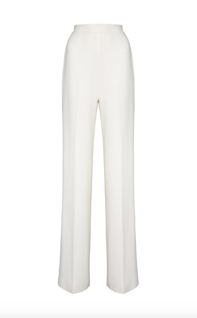 Wide Leg Pant with Front Pleat