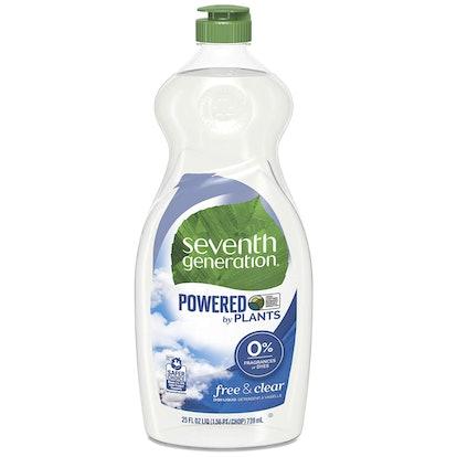 Seventh Generation Dish Liquid Soap (25 Ounces)