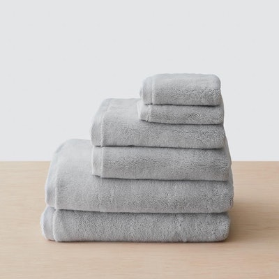 Organic Plush Bath Towel Set