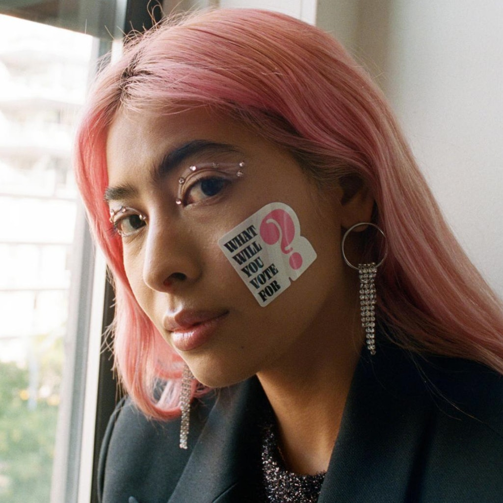 Stickers for change made by Apply2020.
