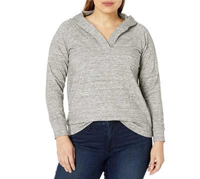 Daily Ritual Plus Size Hooded Top
