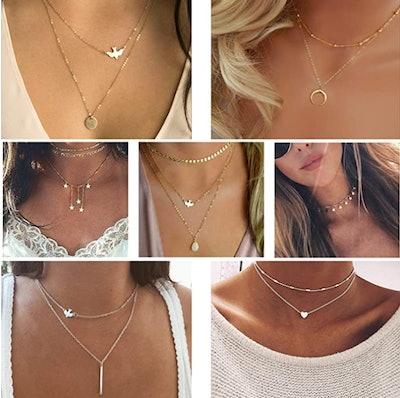 TAMHOO Layering Necklaces (20-Pieces)