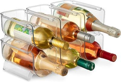 Seseno Bottle Rack Organizer (6-Pack)