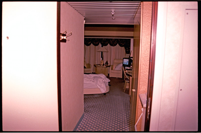 """A room in the Plaza Hotel in Oslo from Unsolved Mysteries' """"A Death in Oslo,"""" via Netflix press site."""