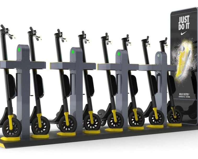 Swiftmile creates free, solar-powered e-bike charging stations.