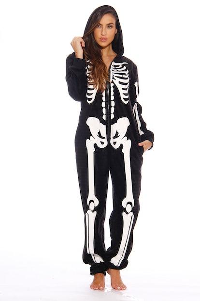 Just Love Skeleton Adult Onesie / Pajamas
