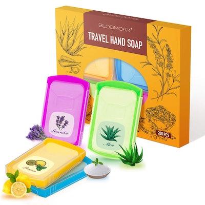B BLOOMOAK Portable Soap Sheets (4-Pack)