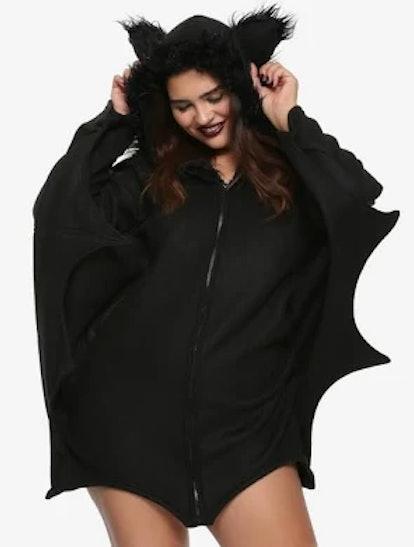 Cozy Bat Girls Costume Plus Size