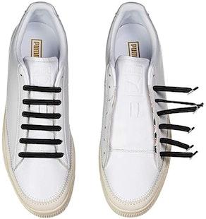 U-Lace Classic Woven No Tie Style Shoelaces Bundle (2-Pack)