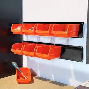Wallmaster Storage Bins ( 8-Bin)