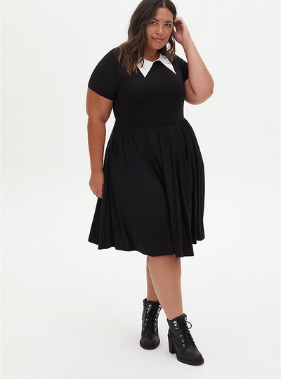 Torrid Plus Size Halloween Costume Goth Girl Dress