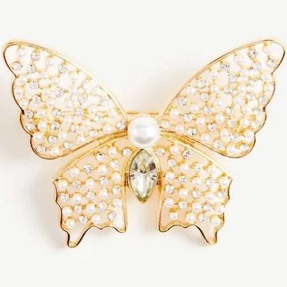 Ann Taylor Butterfly Brooch