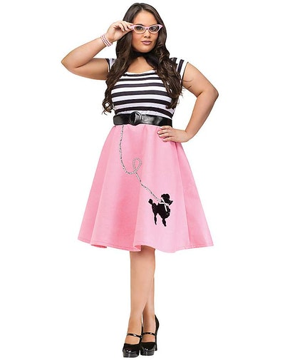 Spirit Halloween Plus Size Soda Shop Sweetie Costume
