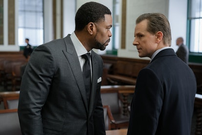 """Clifford """"Method Man"""" Smith as Davis MacLean and Shane Johnson as Cooper Saxe in 'Power Book II: Ghost'"""