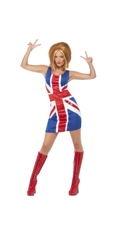 Ginger Spice Girl Costume