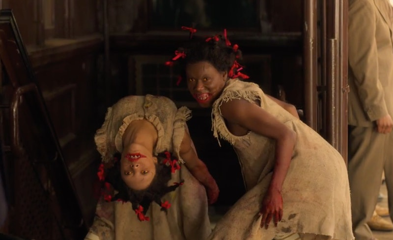 The twin girls in Episode 8 of HBO's 'Lovecraft Country'