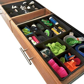 Uncluttered Designs Adjustable Drawer Dividers