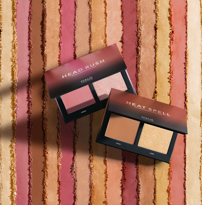 Haus Laboratories' blush and bronzer Face Duos are the brand's first complexion products