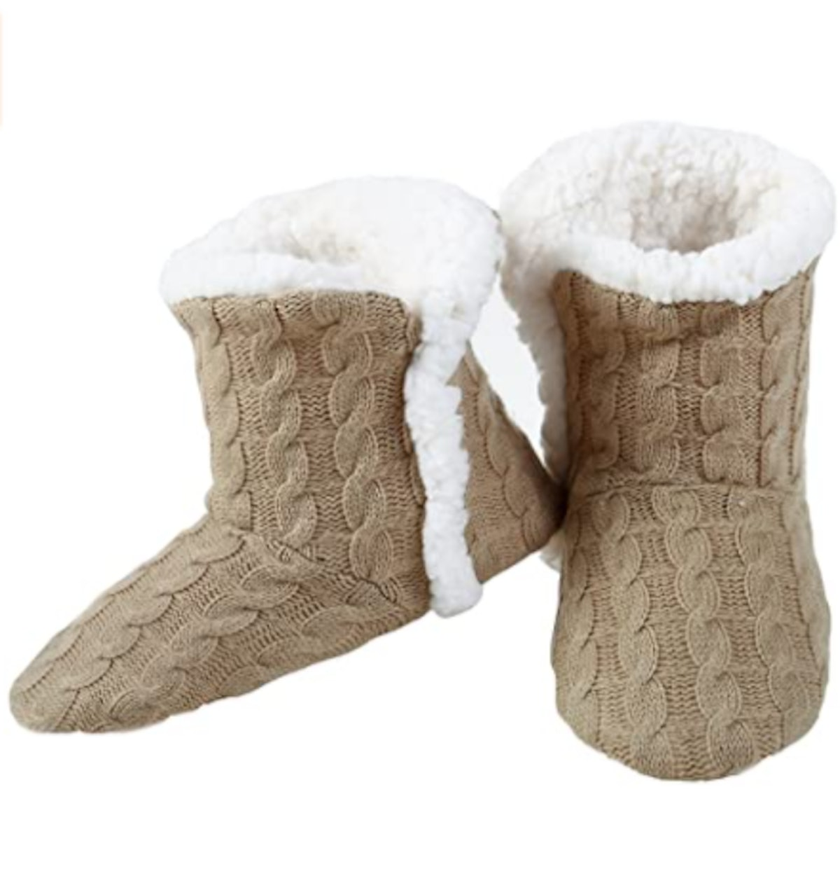 YELETE Cable Knit Slippers