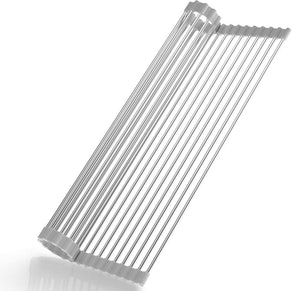 SunCleanse Multipurpose Foldable Roll Up Dish Drying Rack