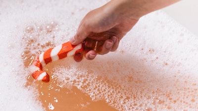 Candy Cane Reusable Bubble Bar