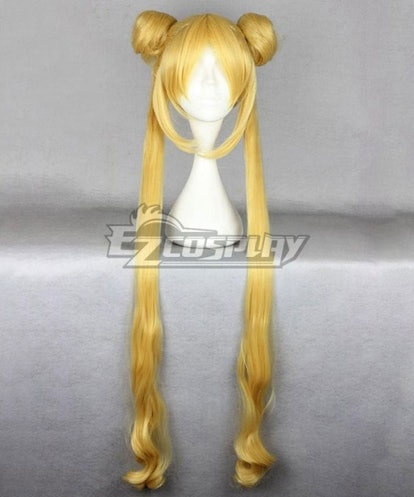 EZCosplay Sailor Moon Tsukino Usagi Golden Cosplay Wig