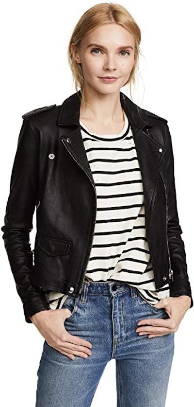 IRO Women's Ashville Leather Jacket