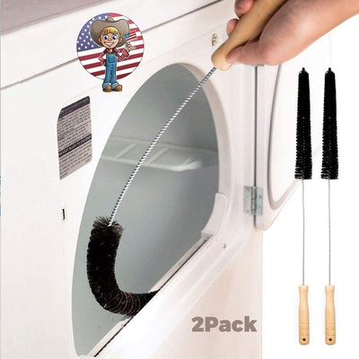 Holikme Dryer Vent Cleaning Brush (2-Pack)