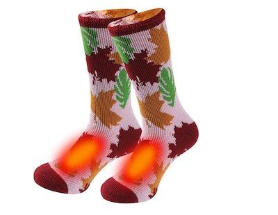 Sunew Patterned Thermal Socks (1 Pair)