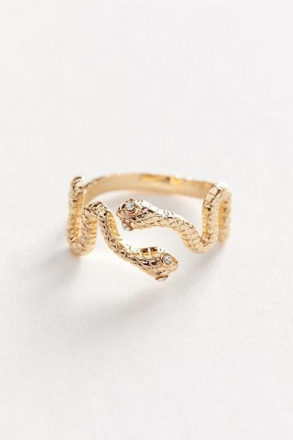 Dual Snake Ring