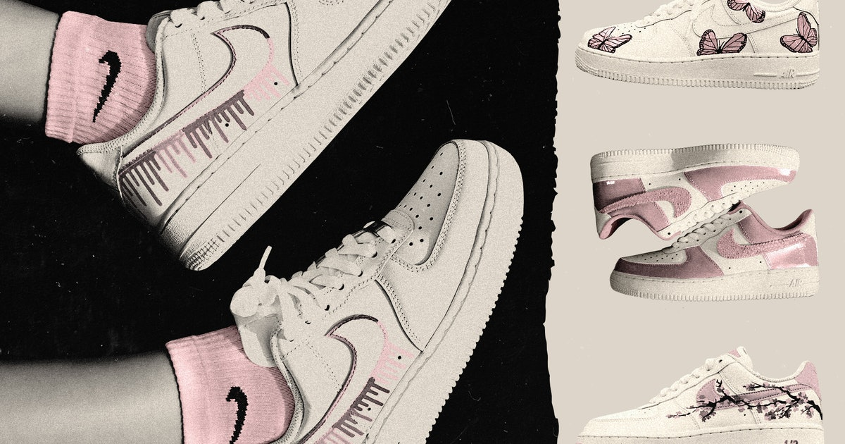 Nike Air Force 1s Are Behind TikTok's Sneaker DIY Movement