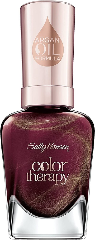 Color Therapy Nail Polish In Wine Therapy
