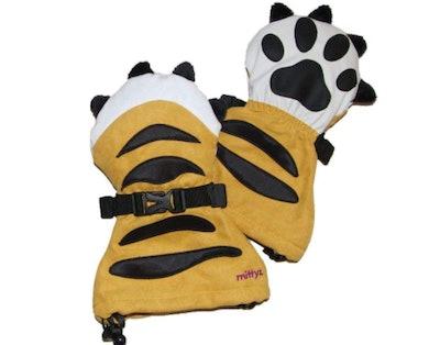 Veyo Kids Tiger Paw Mittyz Mittens