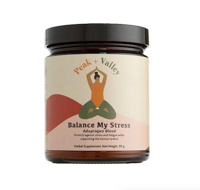 Balance My Stress Adaptogen Blend Herbal Supplement