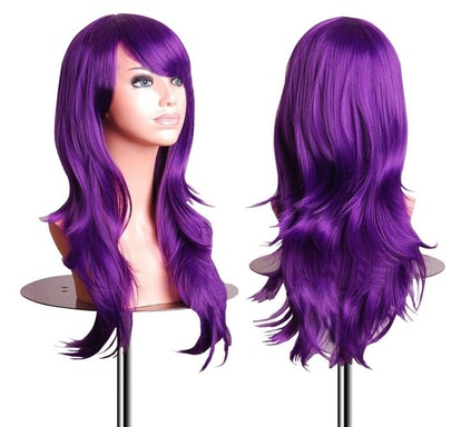 Cosplay Wig For Women in Purple