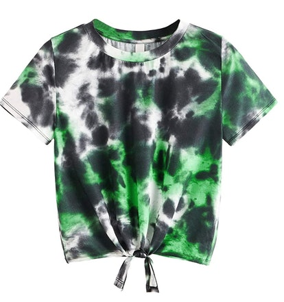 SweatyRocks Tie Dye Shirt