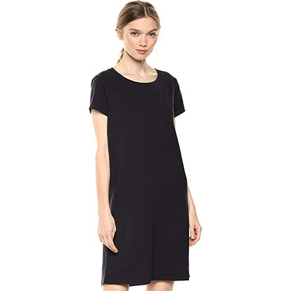 Daily Ritual Lived-In Cotton Crew Neck T-Shirt Dress