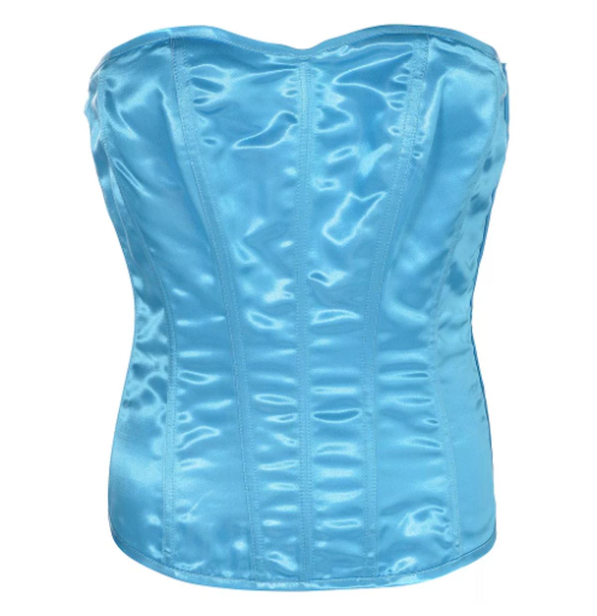 Light Blue Corset