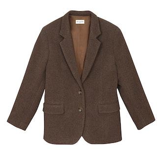 Boyfriend jacket in wool