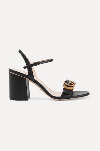 Marmont logo-embellished leather sandals