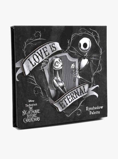 'Nightmare Before Christmas' Jack & Sally Love Is Eternal Eyeshadow Palette