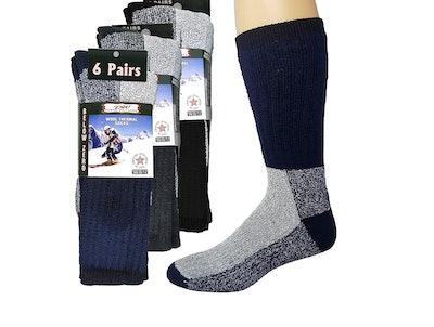 Debra Weitzner Thermal Wool Socks (6 Pairs)
